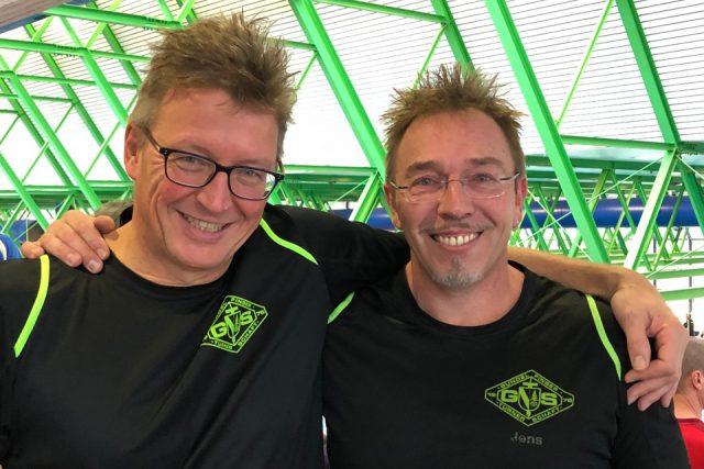 Schwimmer bei Deutschen Kurzbahnmeisterschaften der Masters